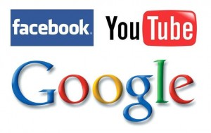 Facebook-Youtube-Google